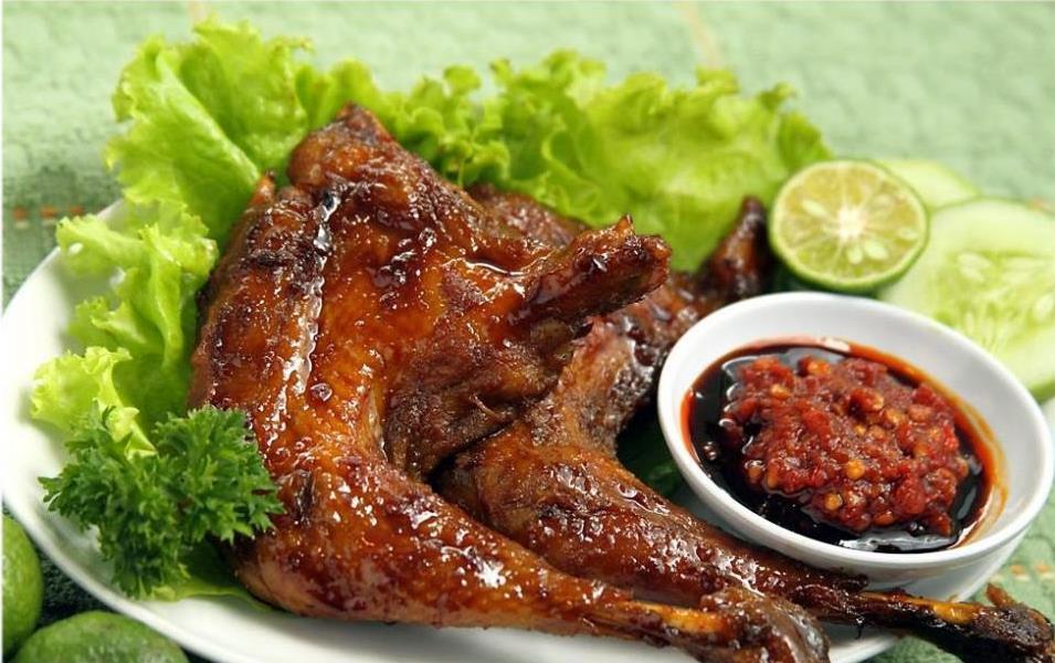 resepi ayam panggang pedas
