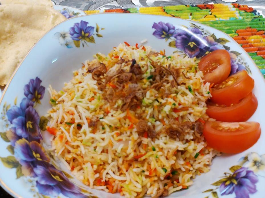 resepi nasi beriani gam