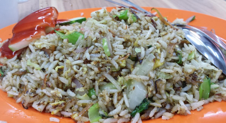 resipi nasi goreng ikan bilis