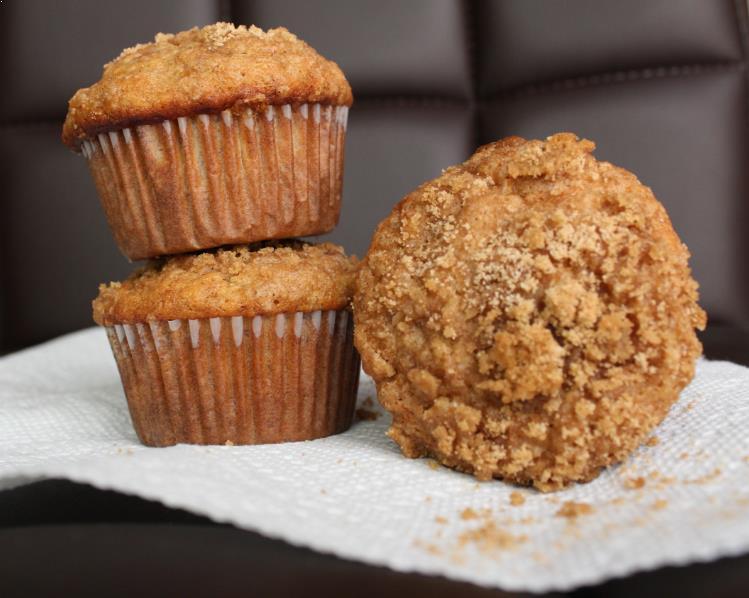 Resepi Banana Crumb Muffins