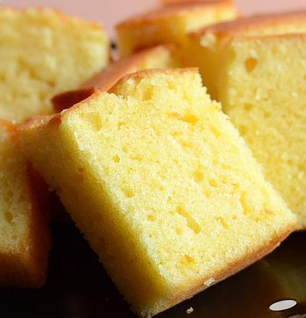 Resepi Blended Orange Cake