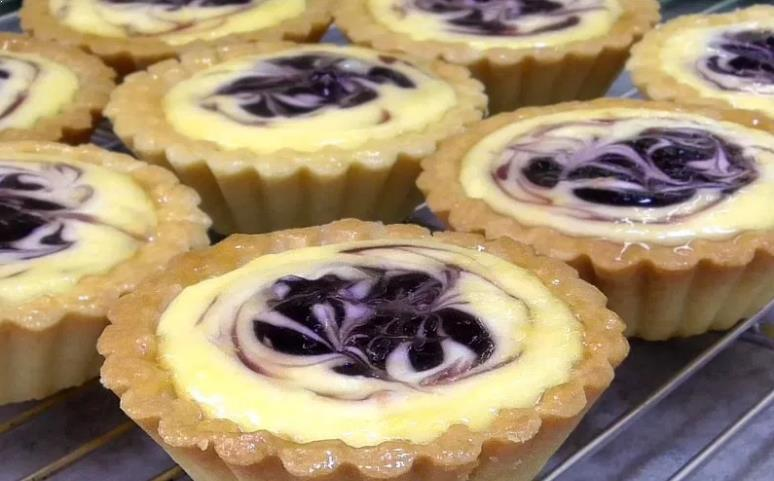 Resepi Blueberries Cheese Tarts