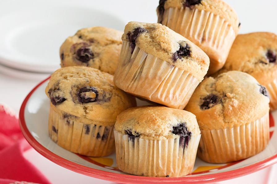 Resepi Blueberry Muffin