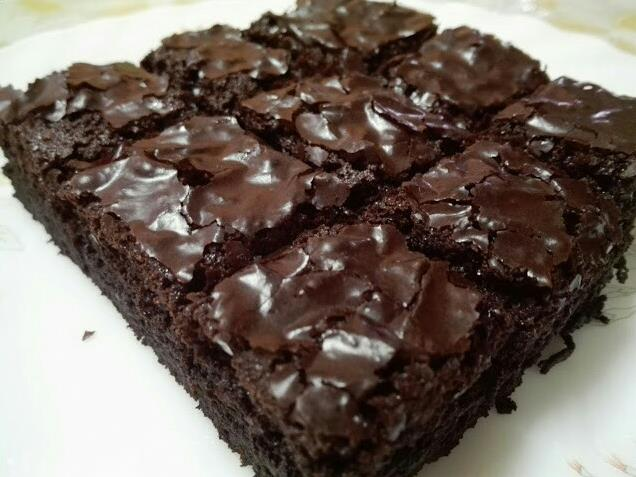Resepi Brownies Simple