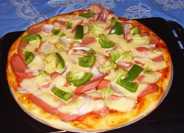 Resepi Buat Roti Pizza