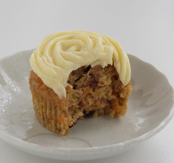 Resepi Carrot Cupcake