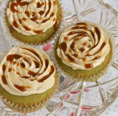 Resepi Cupcake Pandan Gula Melaka