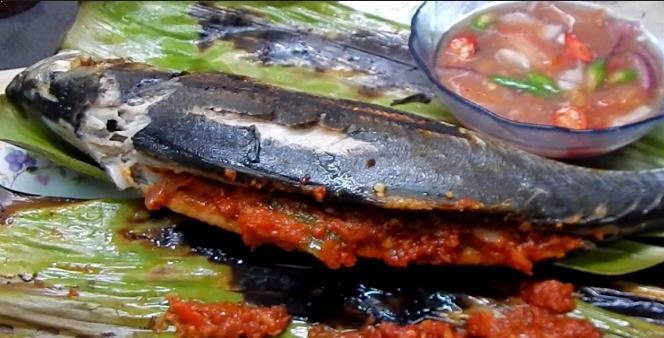 Resepi Ikan Cencaru Bakar Sumbat