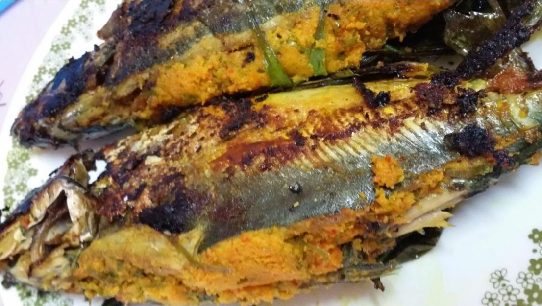 Resepi Ikan Cencaru Sumbat