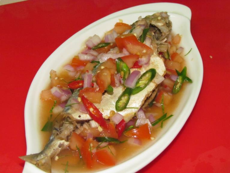 Resepi Ikan Kembung Rebus