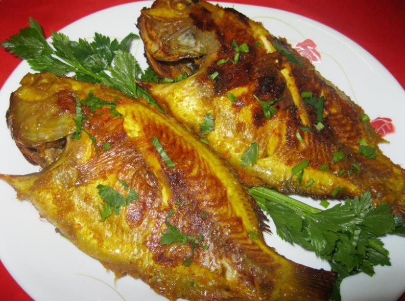 Resepi Ikan Talapia Merah Bakar