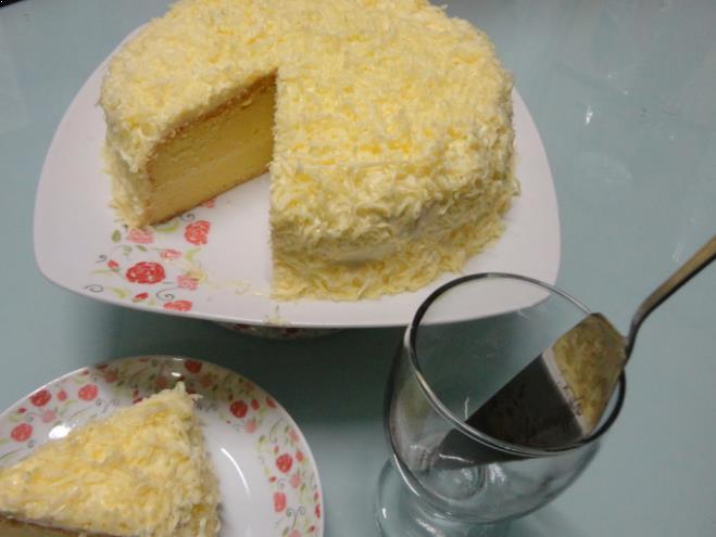 Resepi Kek Cheese Meleleh