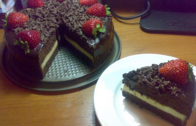 Resepi Kek Coklat Cheese