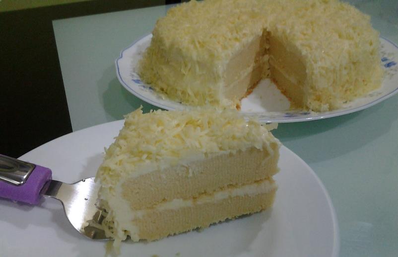 Resepi Kek Snow Cheese