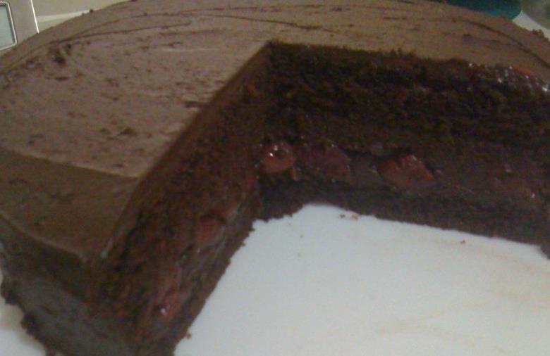 Resepi Kek Span Coklat Kukus