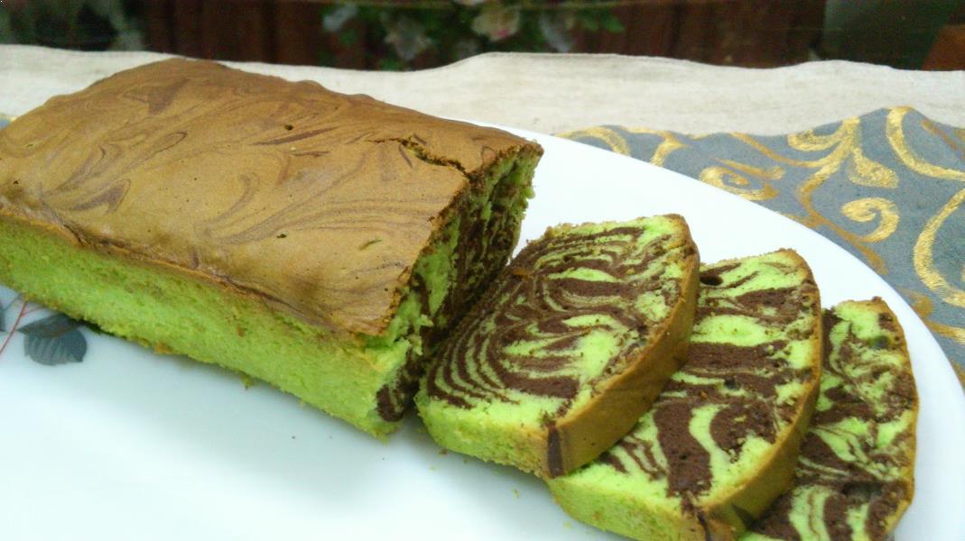 Resepi Marble Cake