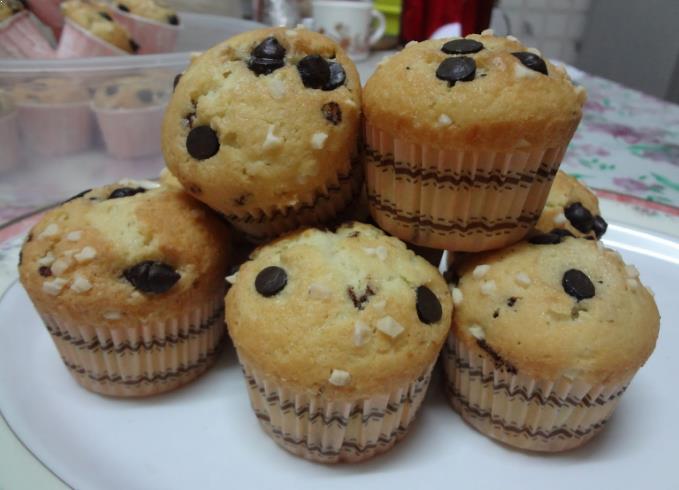 Resepi Muffin Vanilla