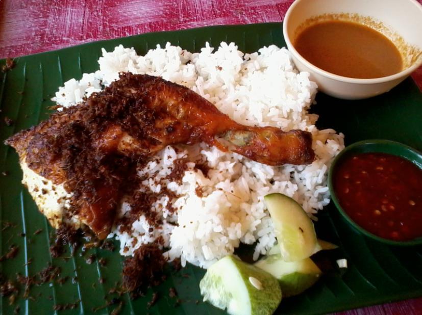 Resepi Nasi Ayam Kukus