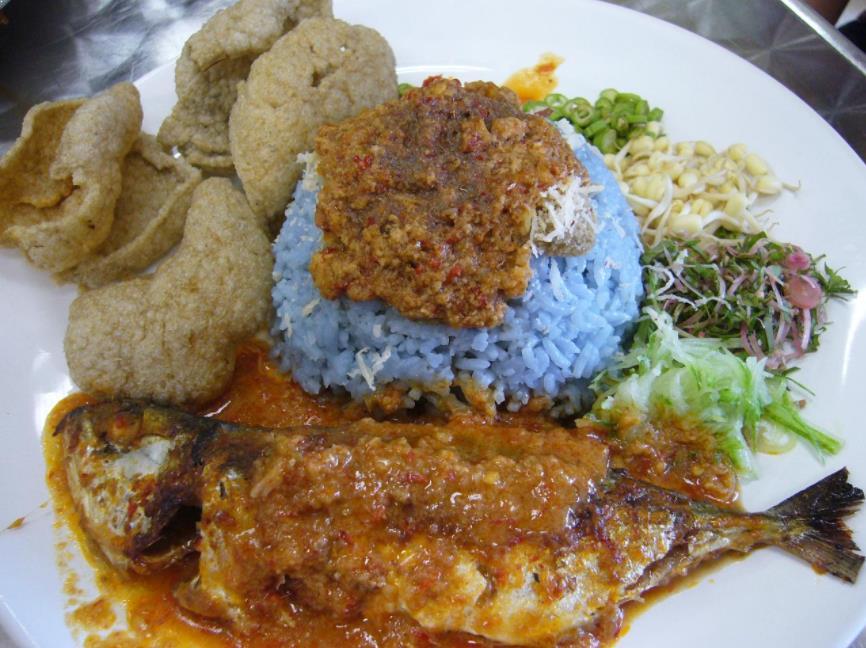 Resepi Nasi Kerabu Biru