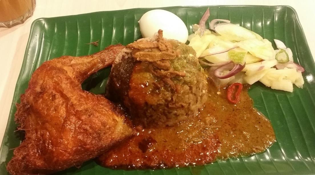 Resepi Nasi Kukus Ayam Goreng Berempah Dan Kuah