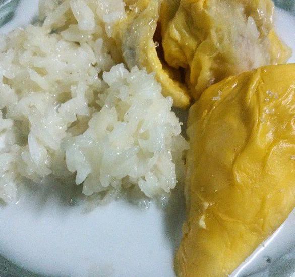 Resepi Pulut Durian Thailand