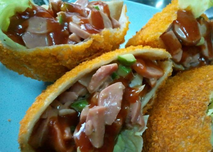 Resepi Roti Sandwich Sosej
