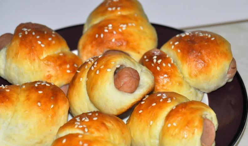 Resepi Roti Sosej Mini