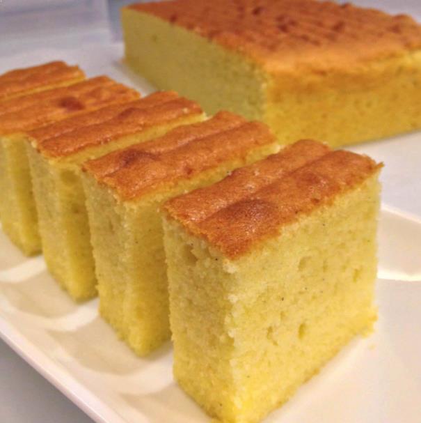 Resepi Vanilla Butter Cake