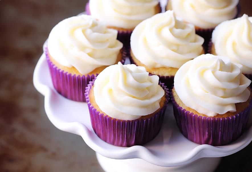 Resepi Vanilla Cupcake
