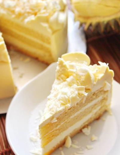Resipi Durian Cream Layer Cake