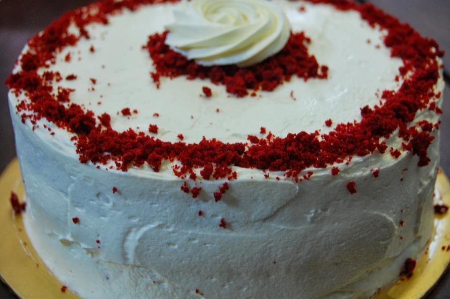Resipi Red Velvet Cake