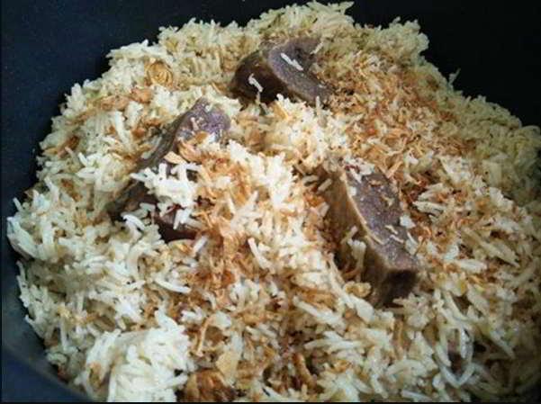 resepi nasi daging periuk noxxa