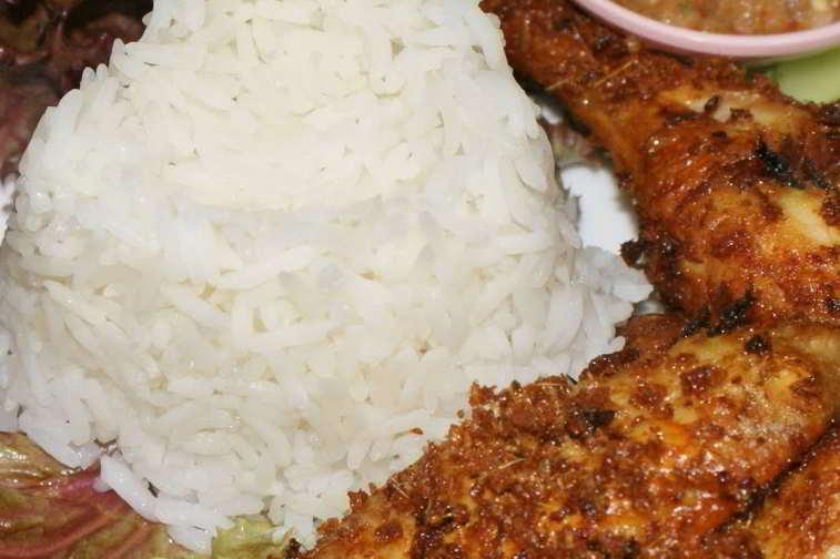 resepi nasi lemak kukus ayam berempah