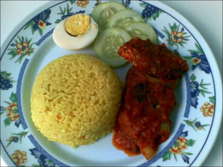 resepi nasi lemak kuning