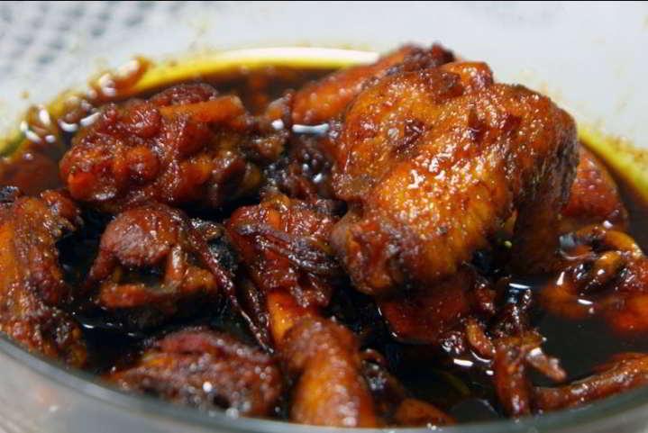 resipi ayam masak kicap berkuah