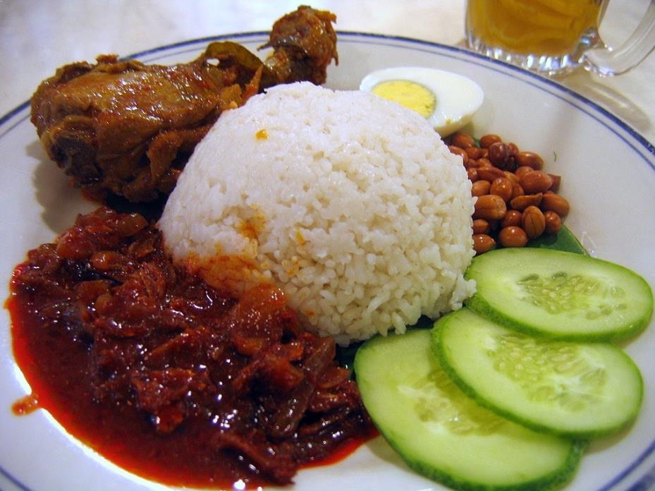 resipi nasi lemak dan sambal tumis