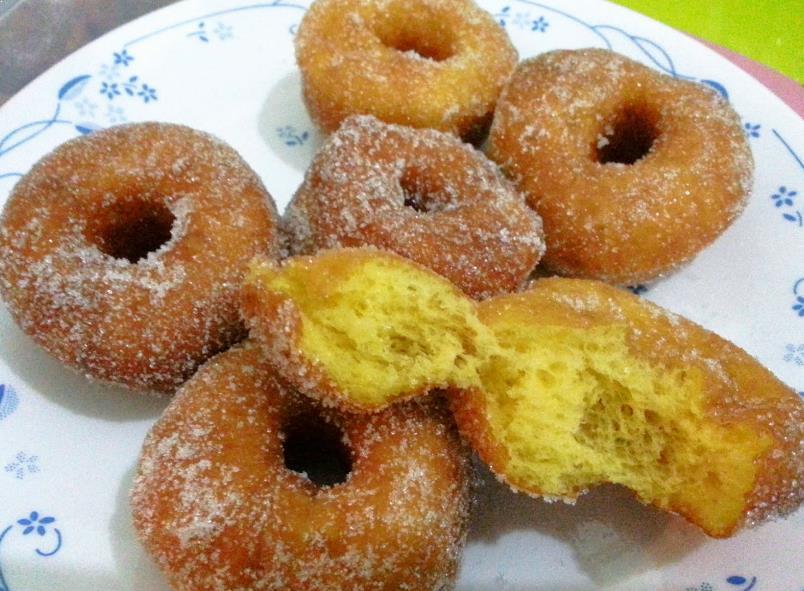 Resepi Donut Labu
