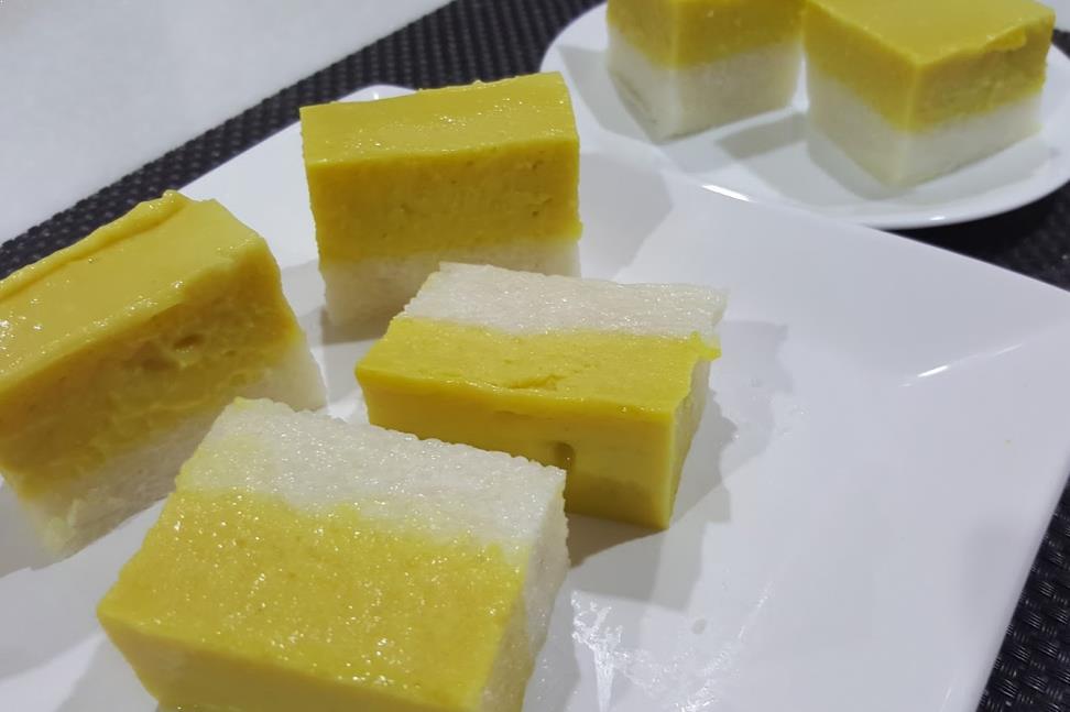 Resepi Kuih Seri Muka Durian