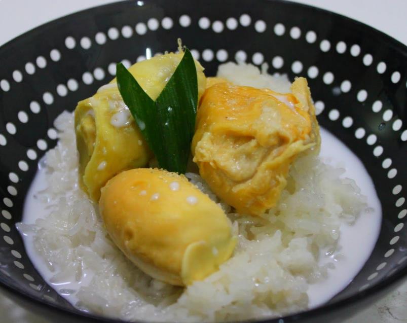 Resepi Pulut Durian