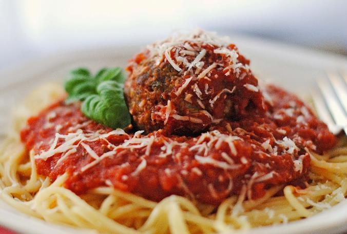 Resepi Spaghetti Prego Meatball