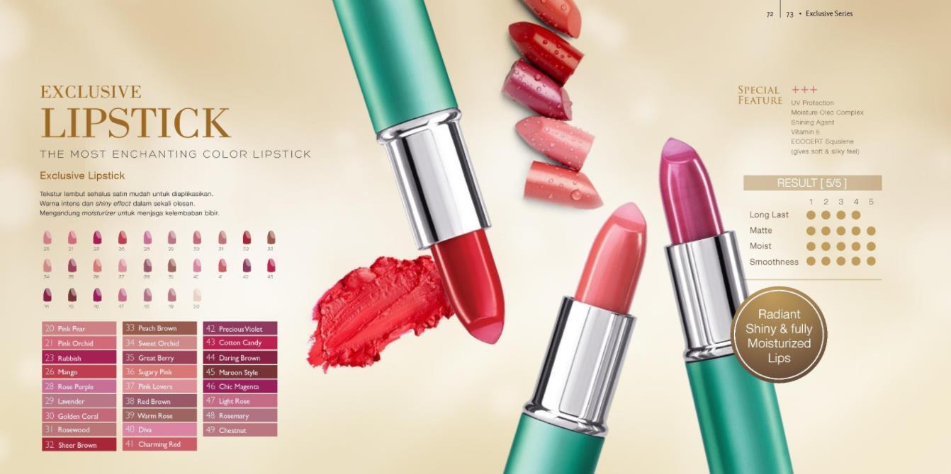 Harga Lipstik Wardah Exclusive