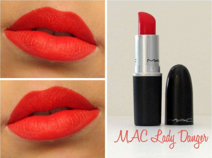 Lipstick MAC Lady Danger