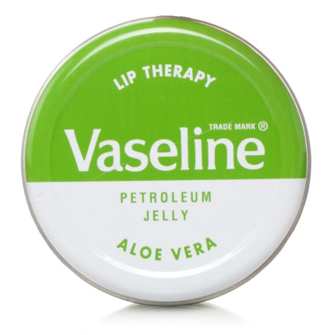 Vaseline lip therapy aloe vera ( pocket size 20gr)