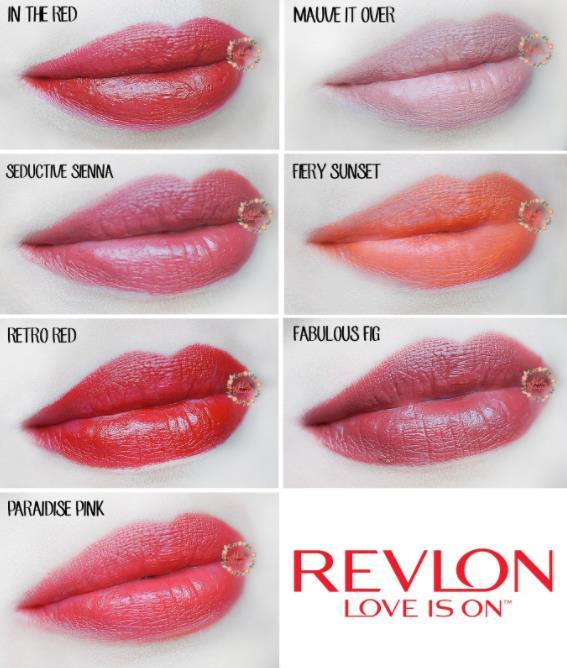 Warna Lipstik Revlon Super Lustrous