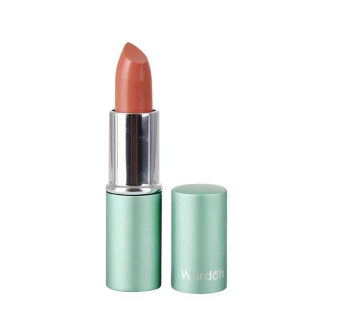 Warna Lipstik Wardah Exclusive 37 Peach Brown