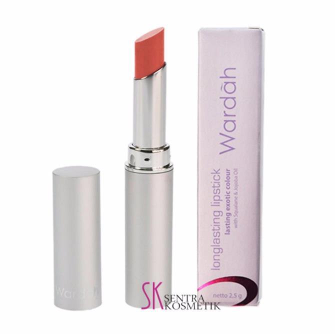 Warna Lipstik Wardah Long Lasting Fabulous Peach