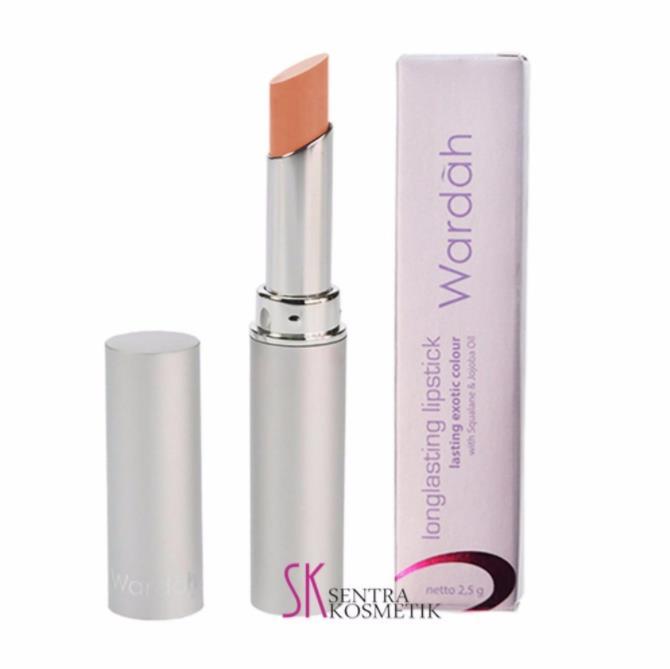 Warna Lipstik Wardah Long Lasting Pink Sorbet