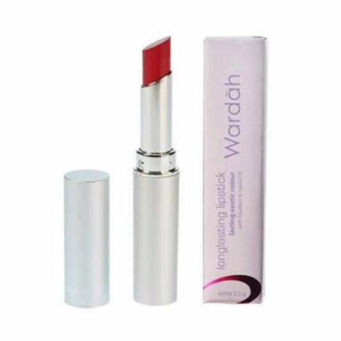 Warna Lipstik Wardah Long Lasting Vibrant Red