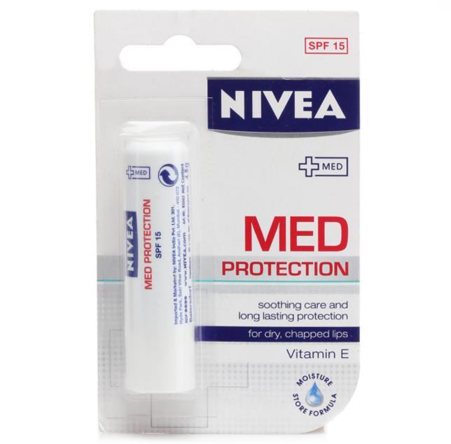 Lip balm nivea med protection