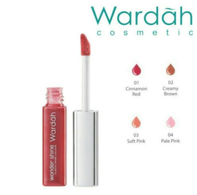 Lip gloss Wardah Creamy Brown